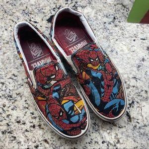 Vans Slip On Marvel Spiderman size 10.5